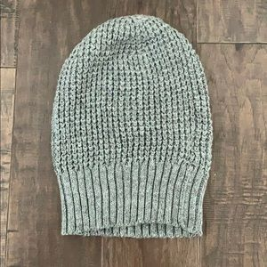 Gray knit beanie from Forever 21